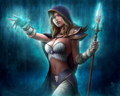 Human Mage - world-of-warcraft fan art