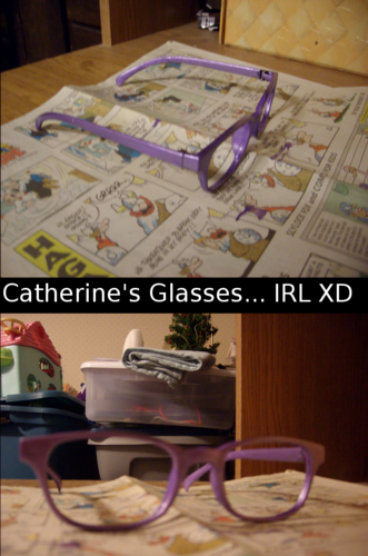 I stahl, stola Cat's Glasses