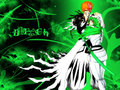 Ichigo and Neliel - bleach-anime wallpaper