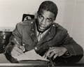 Jackie Robinson Signing with the Dodgers - los-angeles-dodgers photo