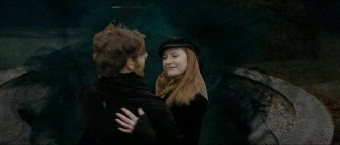 james and lily - mirror of erised>> I don't picture them ...  Lily And James Potter In The Mirror