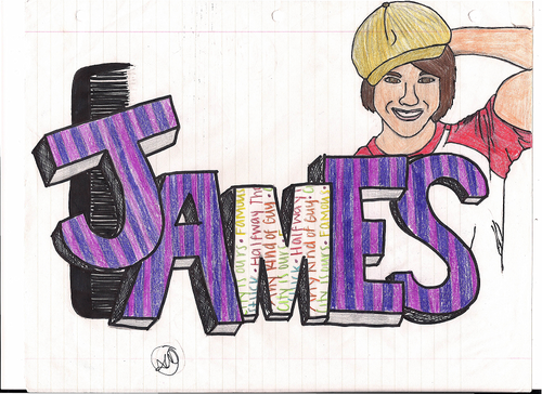 James Maslow Images James Drawing HD Wallpaper And