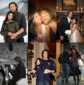 Jared&amp;Gen - jared-padalecki-and-genevieve-cortese fan art