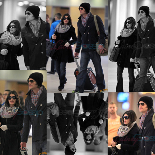 Jared Padalecki & Genevieve Cortese 壁紙 containing a well dressed person titled Jared&Gen