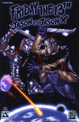 Jason Voorhees achtergrond containing anime titled Jason vs Jason X Comic