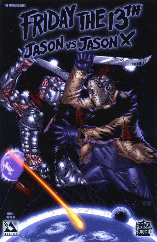 Jason vs Jason X Comic