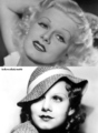 Jean Harlow Blonde / Brunette