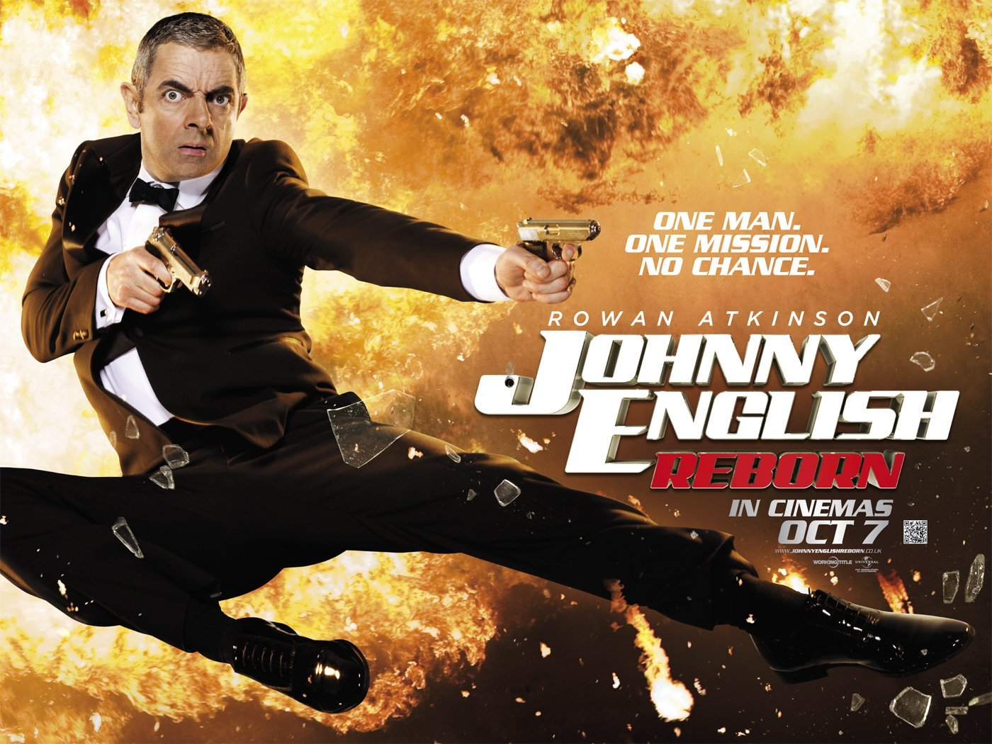 Johnny English Reborn♥ - Movie Posters! Wallpaper (26233329 ...