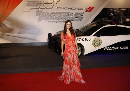 Jordana - Fast Five World Premiere at the Cinepolis Lagoon in Rio de Janeiro, Apr 15, 2011