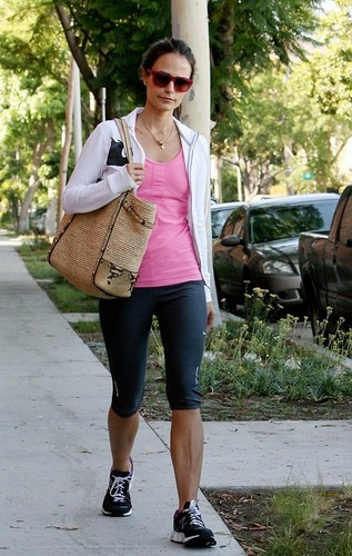 Jordana - Out and about in West Hollywood, July 25. 2011