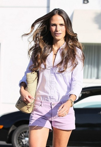Jordana - Outside a Byron and Tracy salon in Los Angeles, August 10, 2011