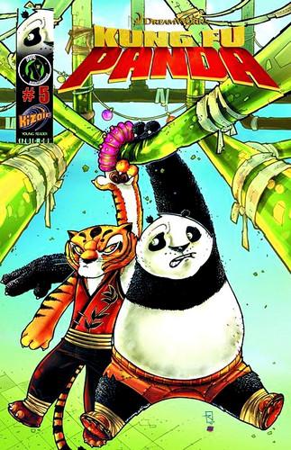 KFP comic cover 5