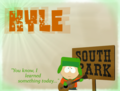 Kyle Wallpaper Quote Thing Whatever - south-park fan art