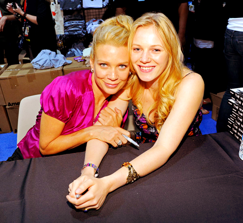 Laurie & Emma.