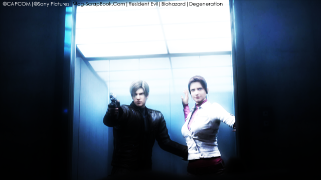 resident evil degeneration leon and claire