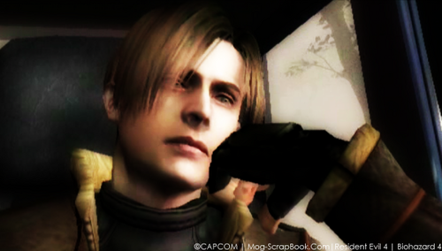 Leon Kennedy 바탕화면 entitled Leon in RE4