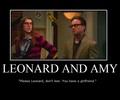 Leonard and Amy :]