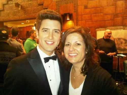 Logan and mama Henderson :)