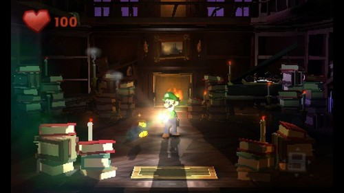 Luigi wallpaper containing a street entitled Luigi's Mansion 2