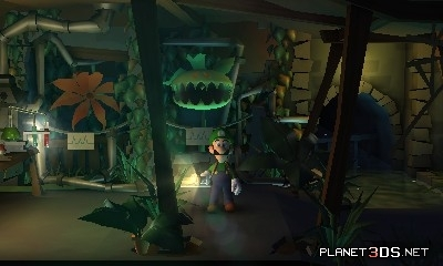 Mario Characters Обои entitled Luigi's Mansion