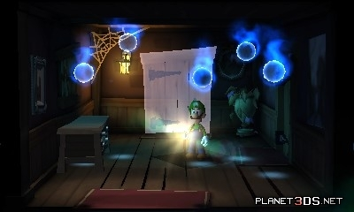 Mario Characters Обои possibly with a family room and a living room called Luigi's Mansion