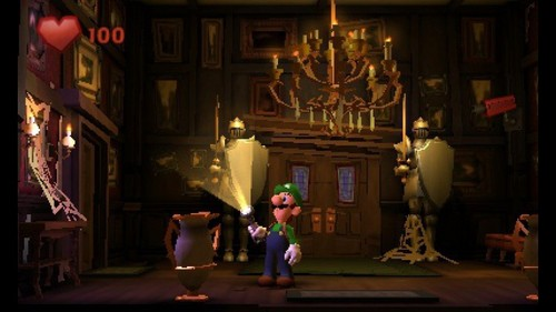 Mario Characters Обои titled Luigi's Mansion