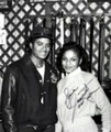 MICHAEL JACKSON AND JANET JACKSON RARE PHOTO
