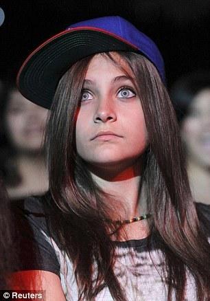 MJ's Daughter Paris At a Chris Brown L.A Concet - Oct.20.11