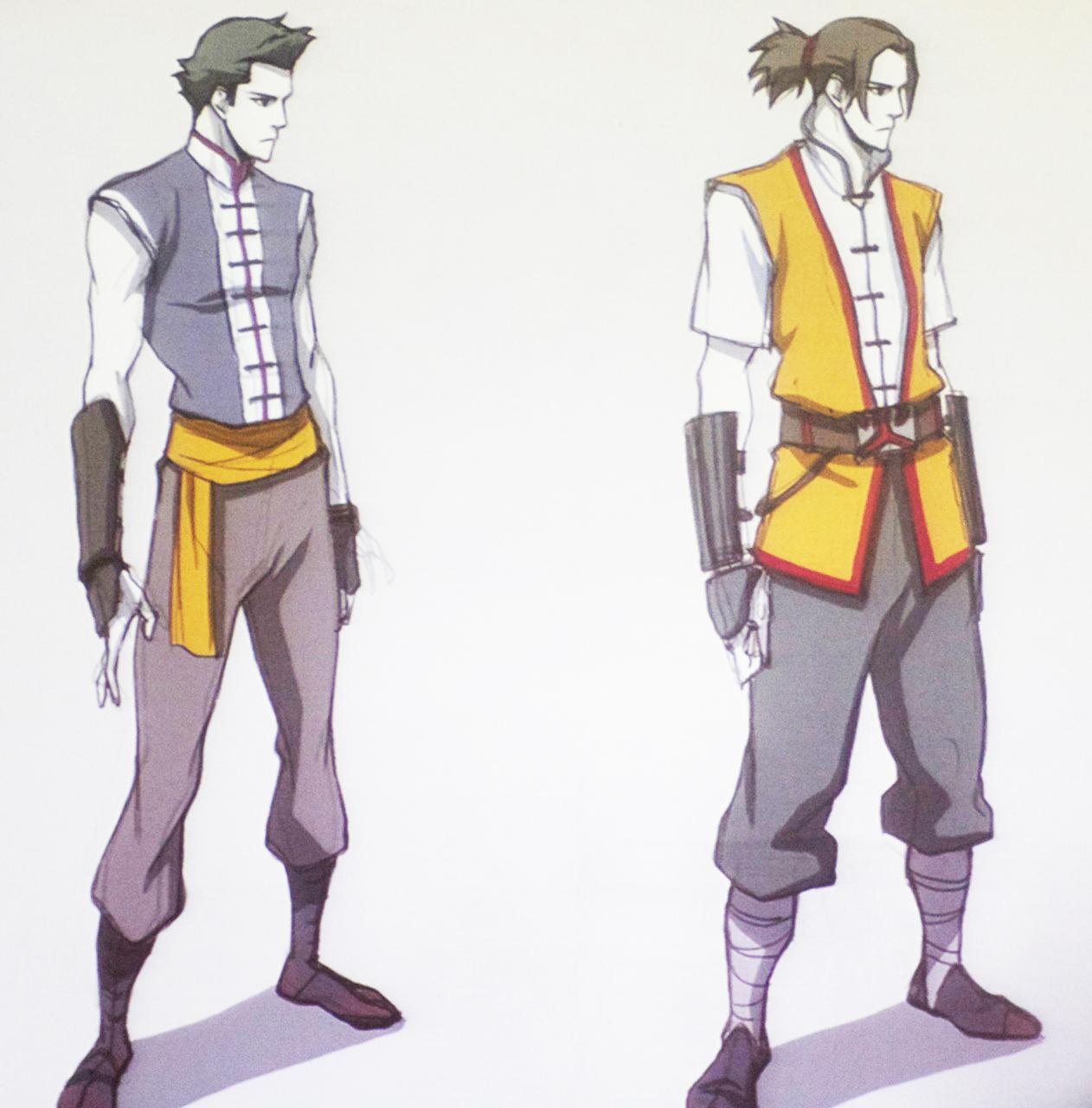 Avatar the legend of korra mako original concept