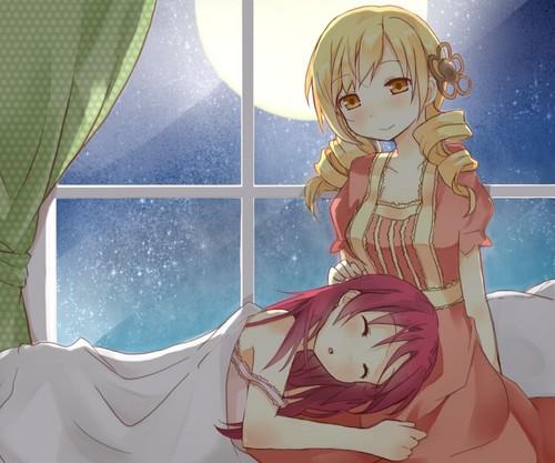 Mami and Kyouko