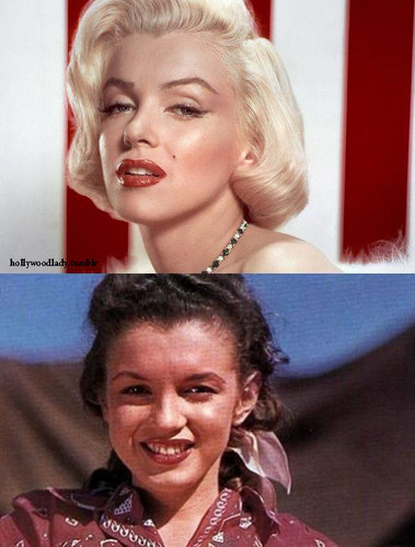 Marilyn Monroe Blonde / Brunette