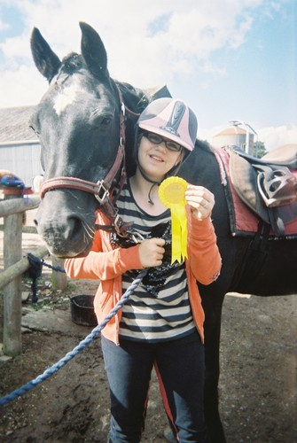 Me and Bryn! - horses Photo