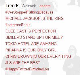 Michael trending on Twitter [October 22]