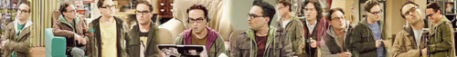 My 3rd banner of Leonard Hofstadter I randomly made! [please do not use]