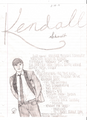 My Kendall drawing with facts. - kendall-schmidt fan art