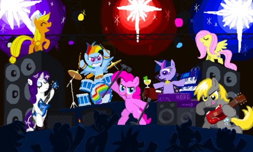 My little gppony, pony band