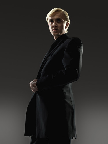 Tom Felton wallpaper probably containing a business suit and a well dressed person titled New Deathly Hallows Part 2 Promo