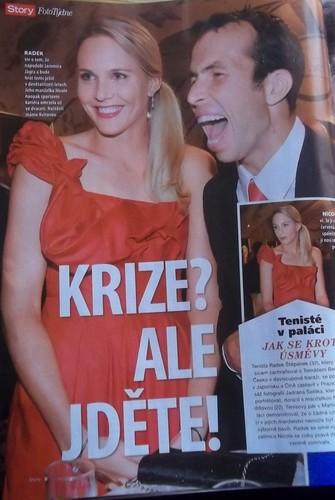 Nicole and Radek are still happy