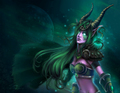 Night Elf Druid - world-of-warcraft fan art