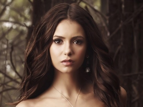Nina Dobrev achtergrond containing a portrait, attractiveness, and skin titled Nina Dobrev achtergrond ❤