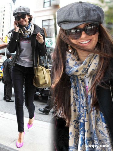 Nina Dobrev attends the Project roze dag at the PUMA store in NY, Oct 2