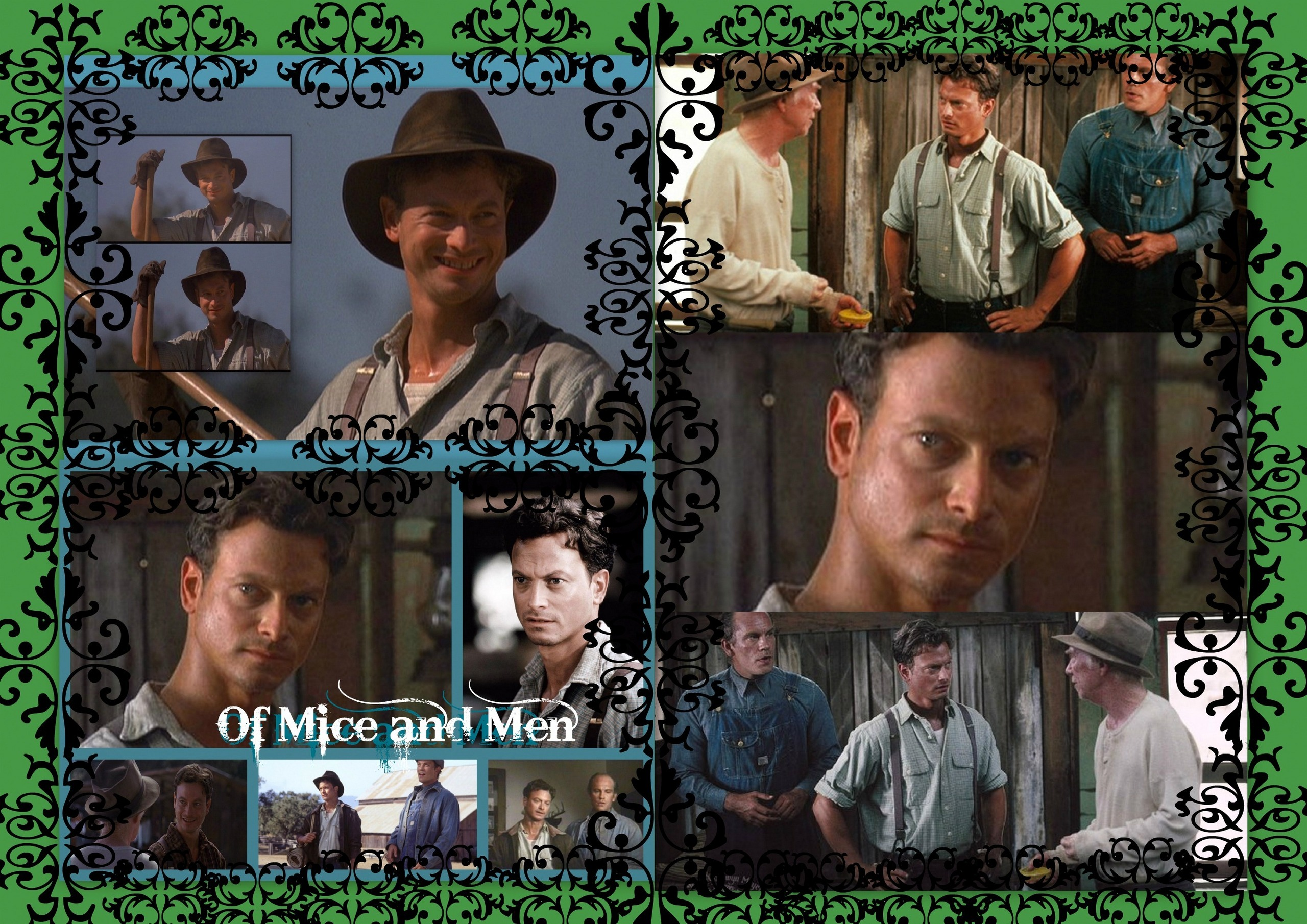 """of mice and men is a While the powerlessness of the laboring class is a recurring theme in steinbeck's work of the late 1930s, he narrowed his focus when composing of mice and men (1937), creating an intimate portrait of two men facing a world marked by petty tyranny, misunderstanding, jealousy, and callousness."
