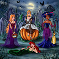 Princess in Halloween!