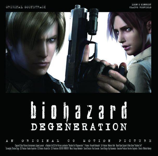 Red Soundtrack Album Resident Evil Degeneration Foto 26256586