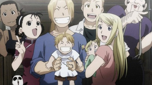 Renewed Elric Family Picture