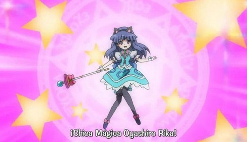 Rika is a Magical girl!