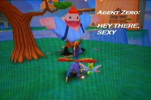 Spyro The Dragon پیپر وال possibly with a wicket, a sign, and عملی حکمت called Ripto's Rage Captions