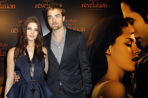 Rob and ashley In paris attending BD event HQ