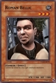 Roman Belic card - yu-gi-oh photo