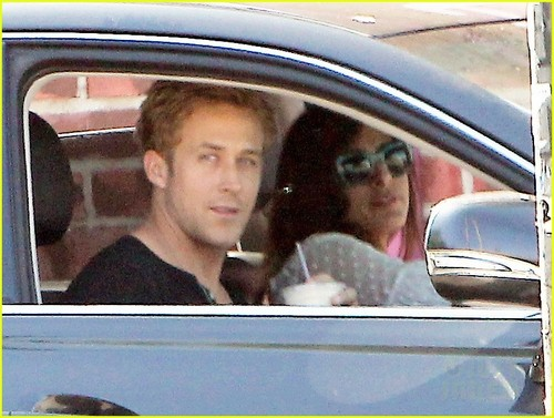 Ryan 小鹅, gosling, 高斯林 & Eva Mendes Heat Up in Hollywood